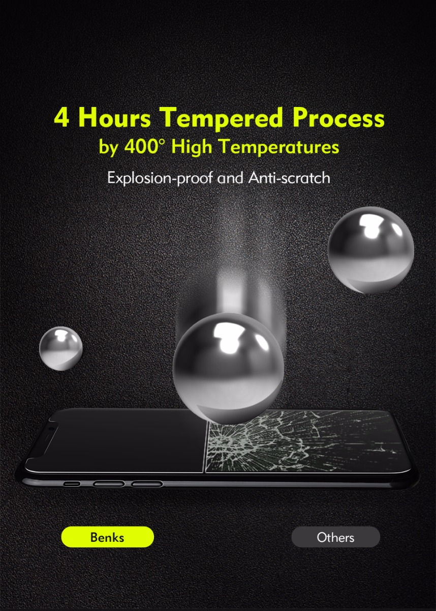 tempered glass protector for iphone x