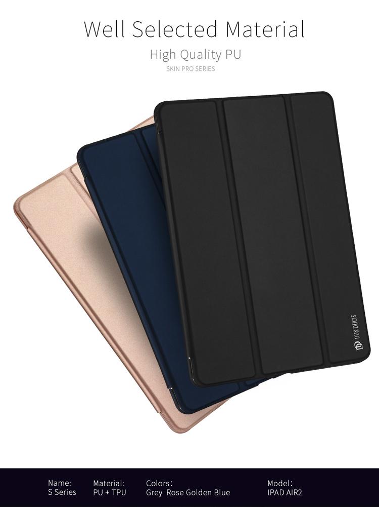 DUX DUCIS Slim Leather Case Tri-fold Smart Flip Cover for iPad Mini 4