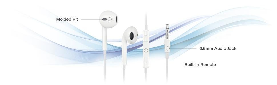 Apple EarPods with 3.5mm Headphone Connector
