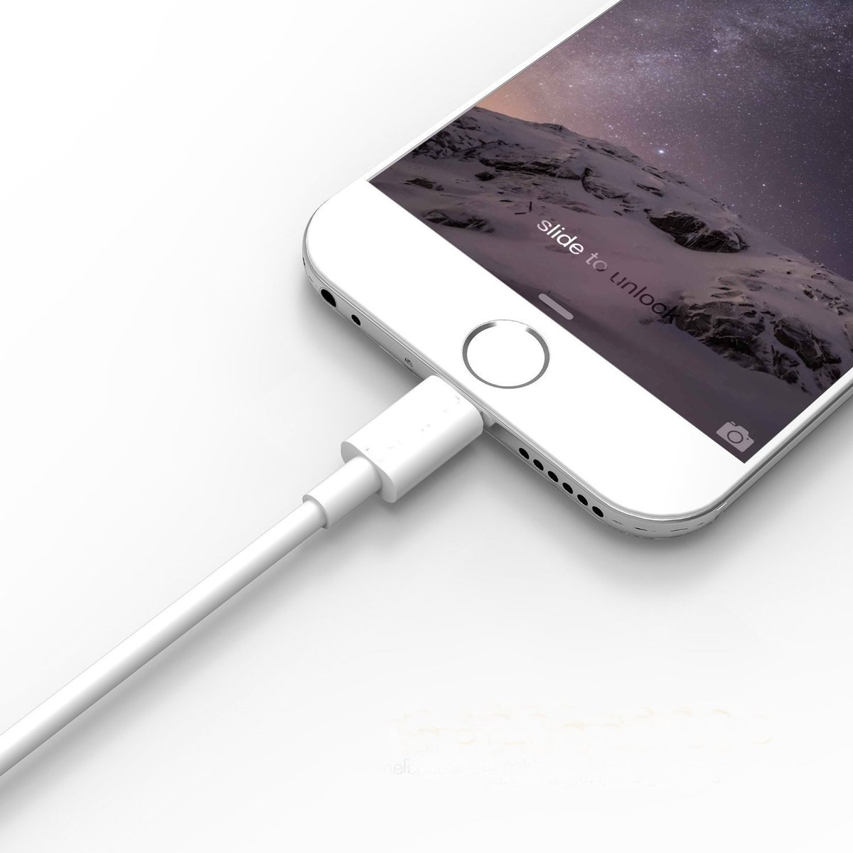 iPhone Mobile Phone Charger + Data Cable-US