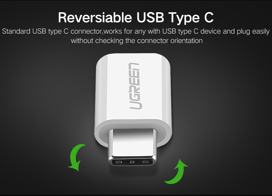 Ugreen US157 Micro Type-C to USB Converter 3.1 C OTG Adapter