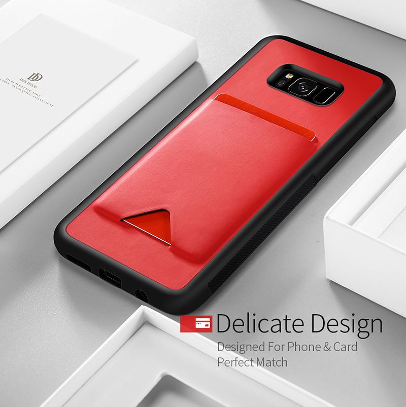 DUX DUCIS Ultra Slim Case with Card Slots Holder for Samsung Galaxy S8/S8 Plus