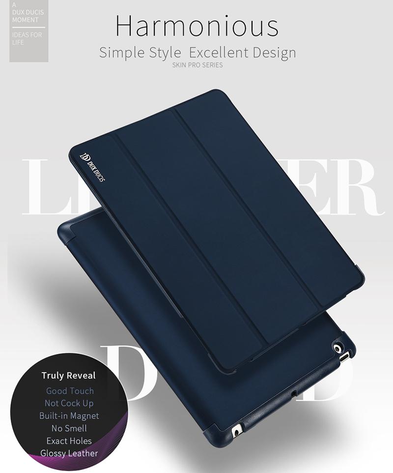 DUX DUCIS PU Leather Case Foldable Folio Smart Stand for iPad 2/3/4