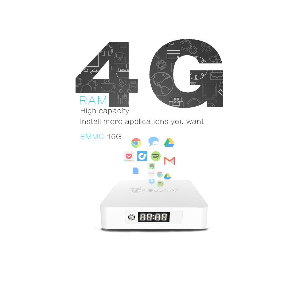 Beelink A1 WiFi TV Box Andrio7.1 Quad-core Procesor RAM4G ROM16G
