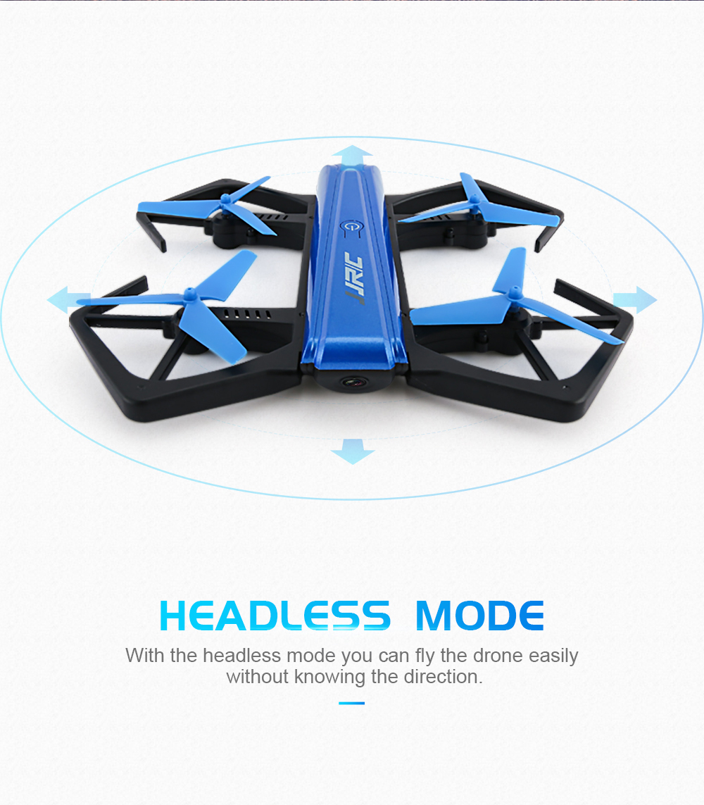 JJRC H43WH Mini Foldable Drone Headless RC Quadcopter with 720P Camcorder