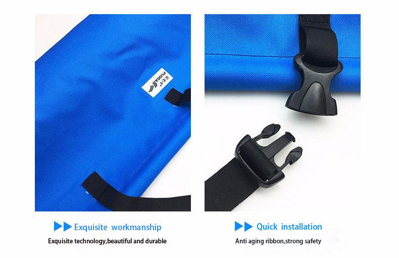 PUGGA Pet Mat Portable Waterproof Travel Folded Car Security Basket