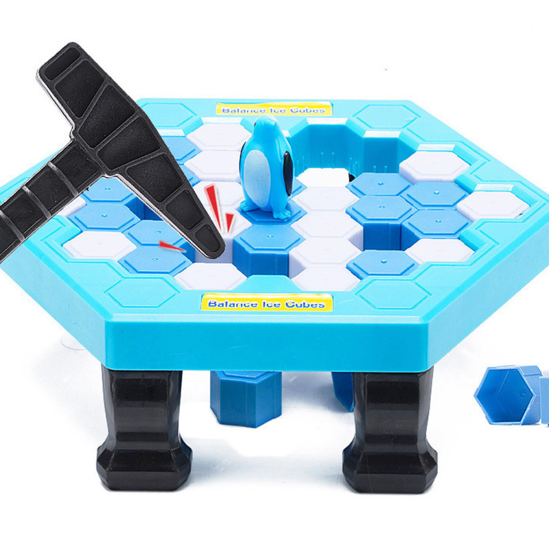 Penguin Crashed Ice Game to Break Ice Save Penguin Desktop Interactive Toy