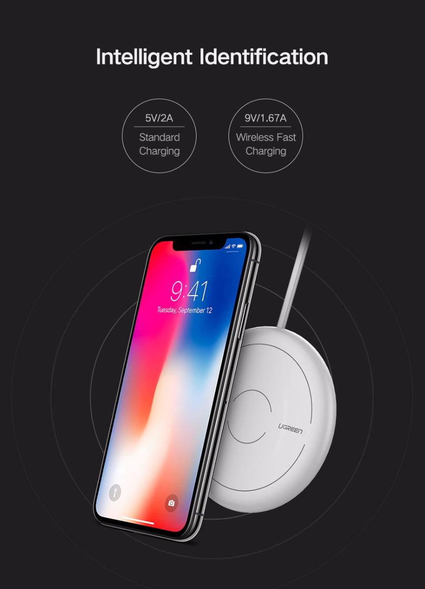 wireless quick charger for iphone 8