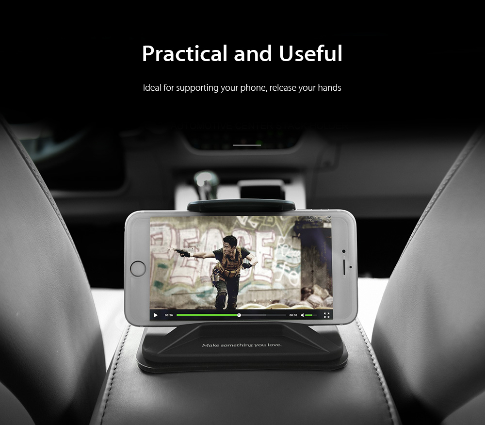 HOCO CA21 Car Mount Holder Universal Dashboard Phone Clip GPS Stand