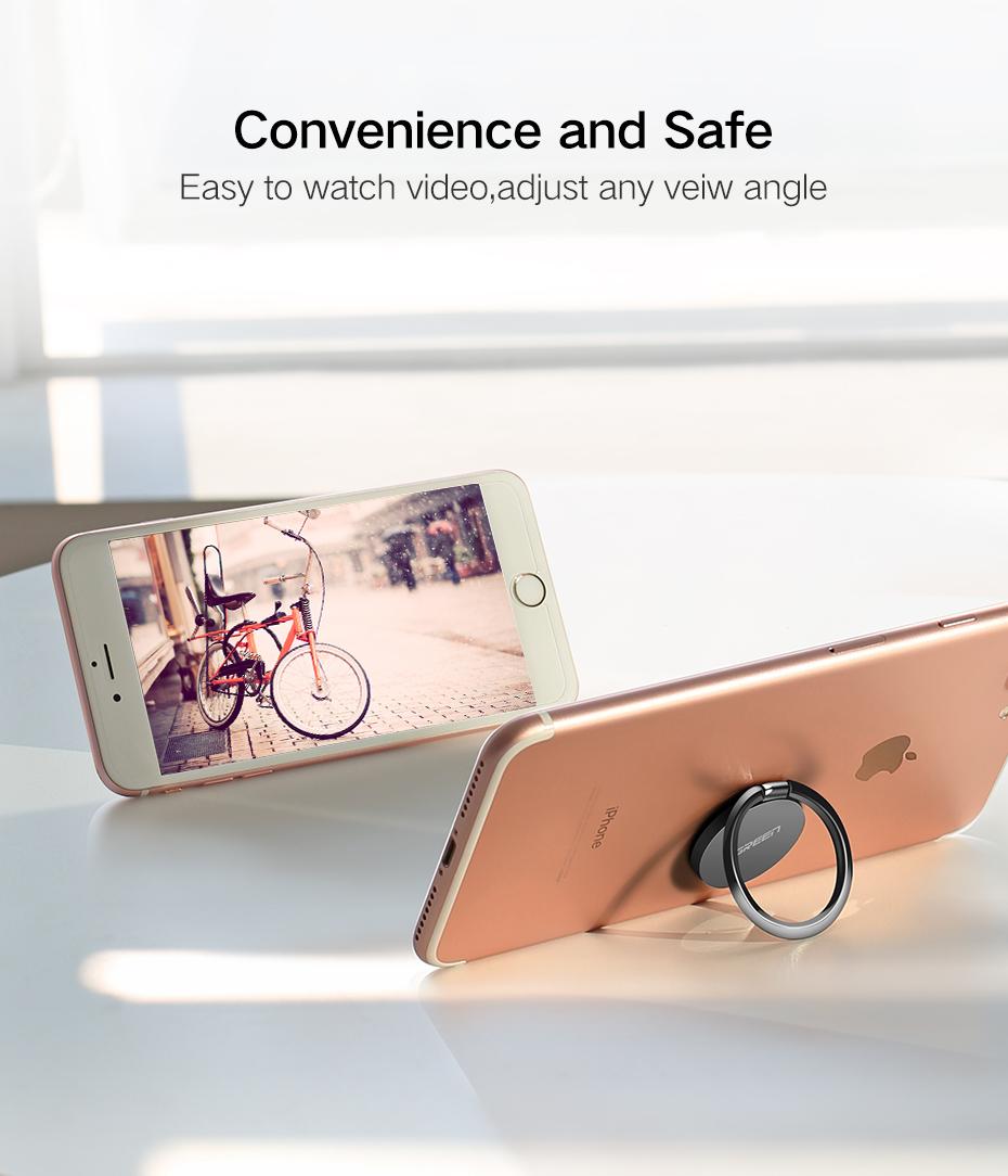 Ugreen LP133 Metal Ring Mobile Phone Holder