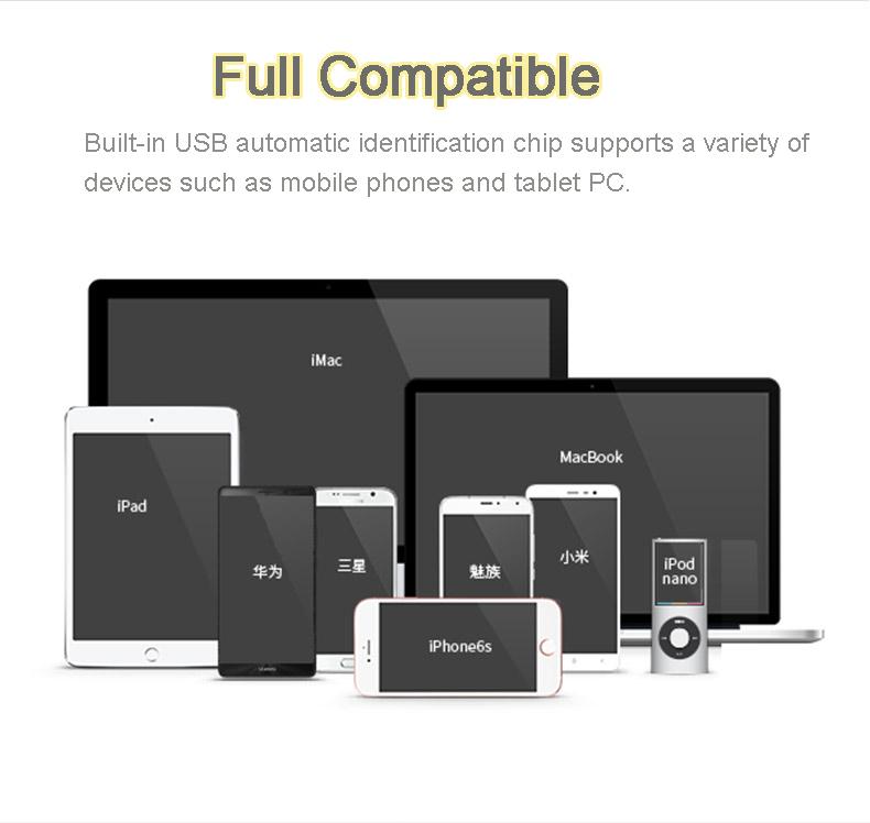 HOCO B24 30000mAh Portable Power Bank with LCD Display
