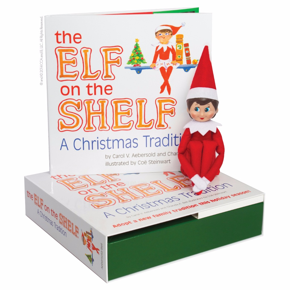 ELF Christmas Elf Doll for Kids Gifts