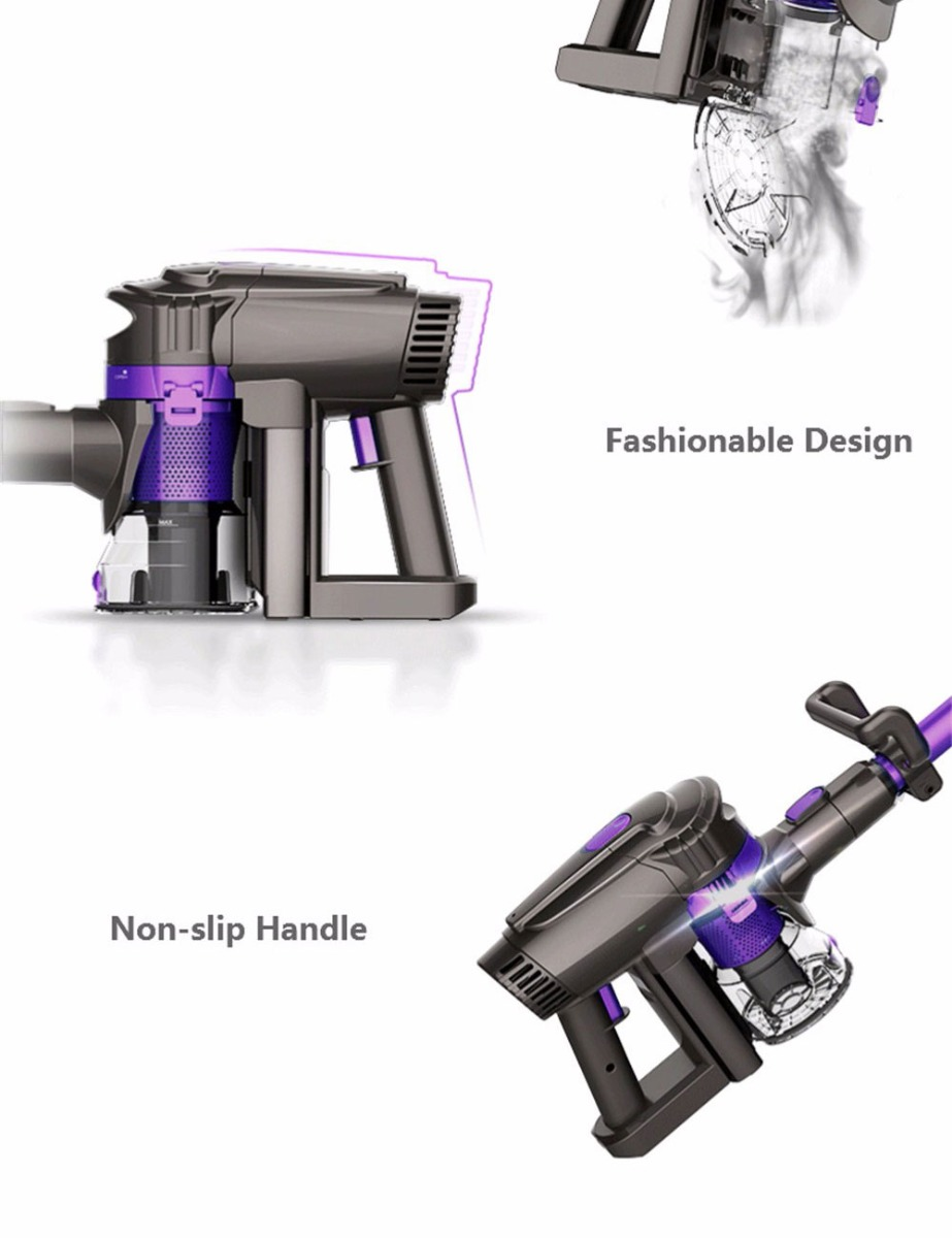 Dibea F6 2-in-1 Powerful Cordless Upright Vacuum Cleaner