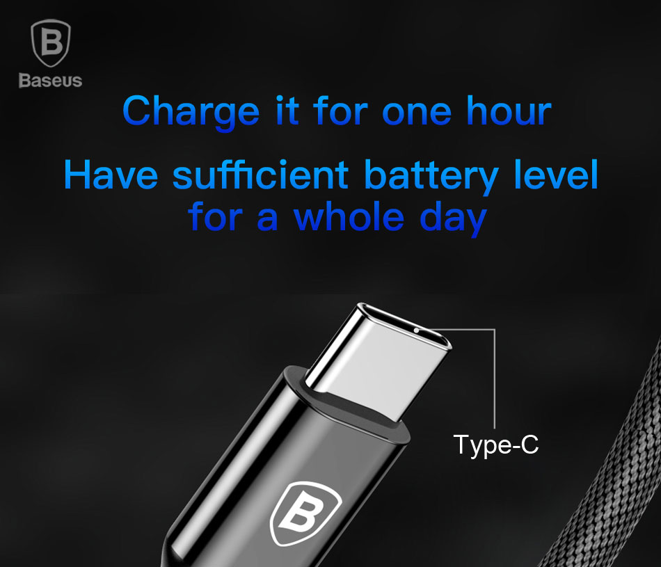 Baseus 18W PD Fast Charging Cable Type-C to 8 Pin for Apple Devices