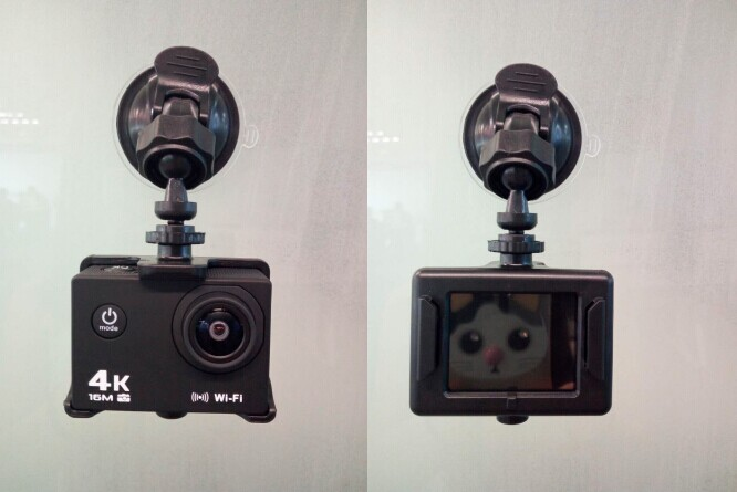 AT-30R Ultra HD 4K Action Camera 2.0 inch Mini Waterproof WiFi Remote Sports DV