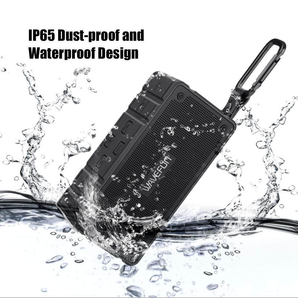 Wavefun Cuboid Mini Portable IP65 Waterproof Bluetooth Speaker