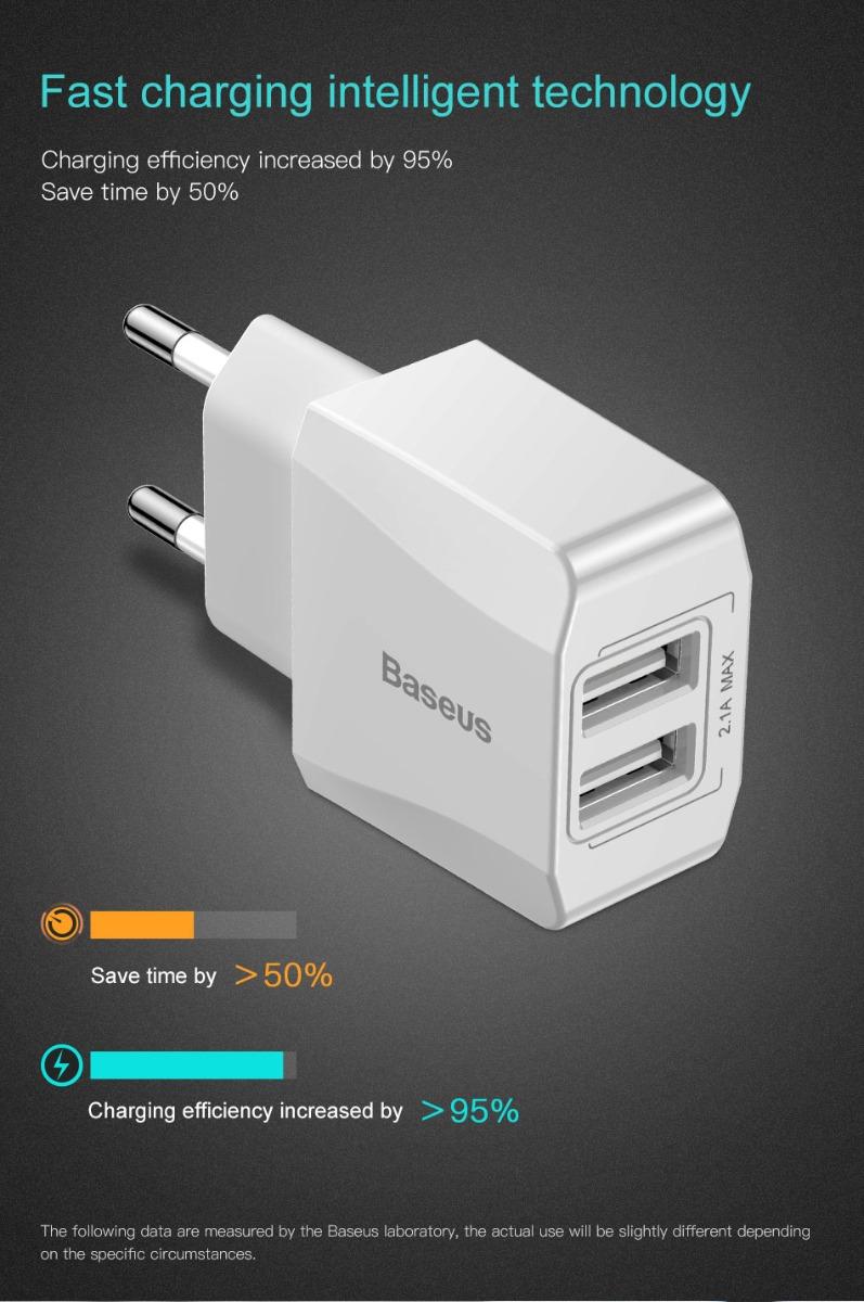 Baseus Dual USB Portable Mini Charger