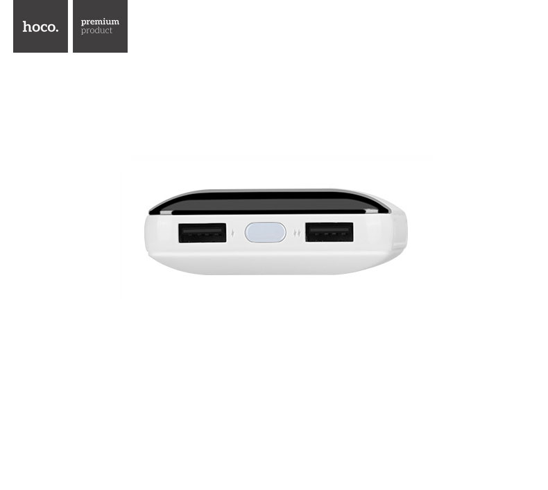 HOCO B29A 15000mAh Portable Power Bank with Dual USB and LED Digital Display