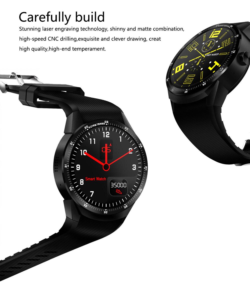K98H 3G Smart Watch Phone Support GPS WiFi Heart Rate Monitor Wristwatch