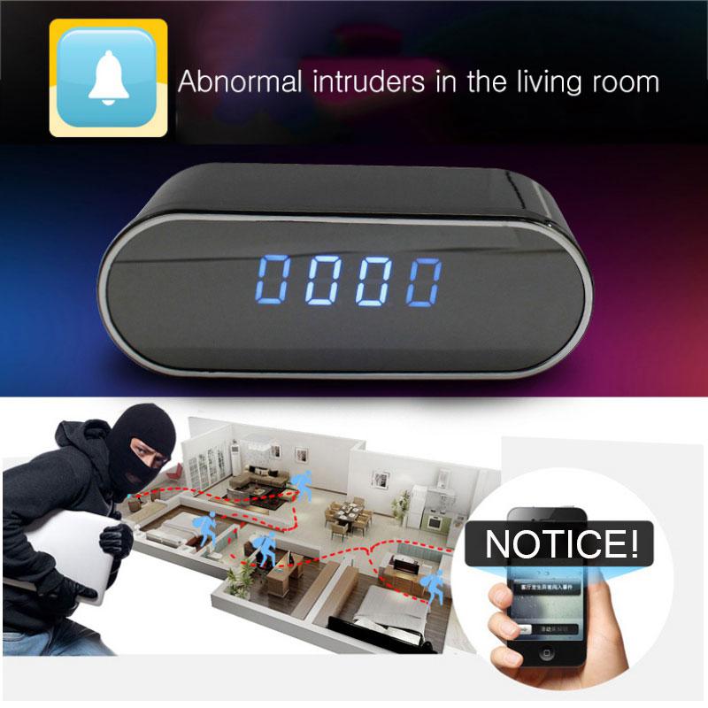 Z10 Mini Hidden Camera Clock 1080P Wireless Night Vision Mobile Phone Network Monitor