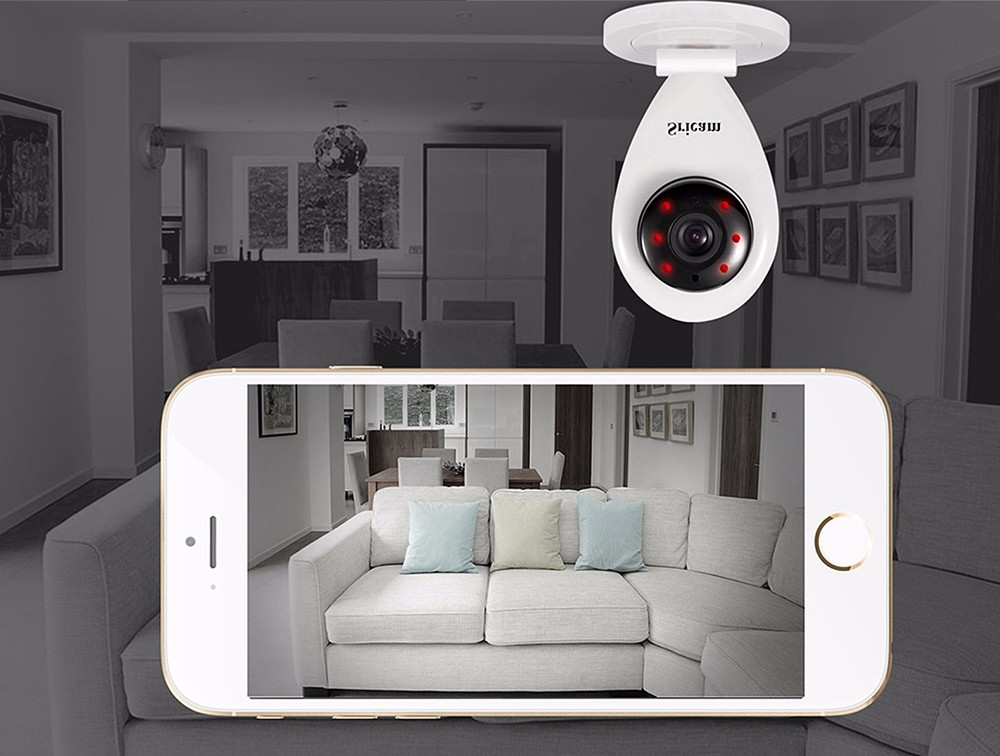 Sricam SP009A 720P WiFi IP Camera Wireless P2P ONVIF Security Surveillance