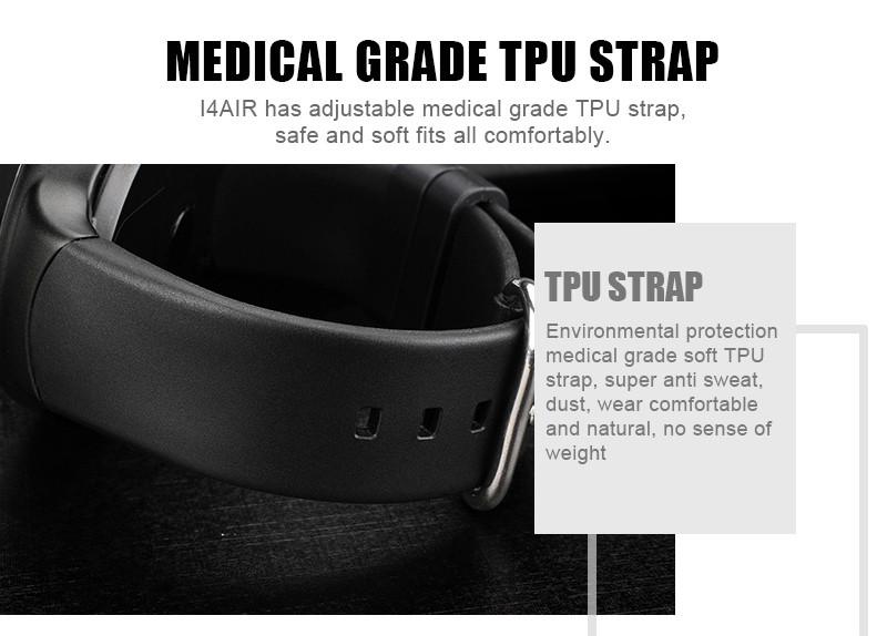 I4 AIR 3G Smart Watch Phone GPS Heart Rate Monitor TPU Strap Smartwatch