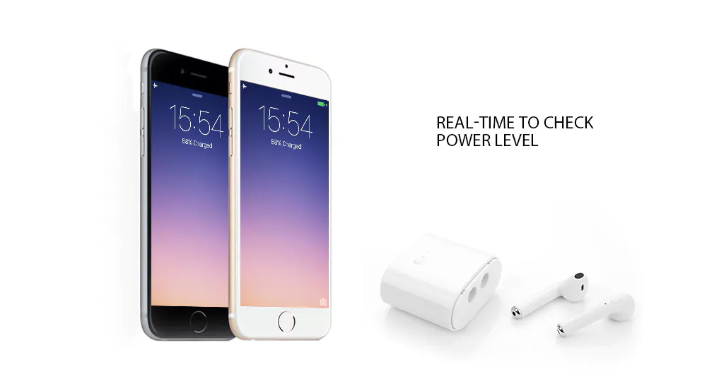i7s wireless earphones