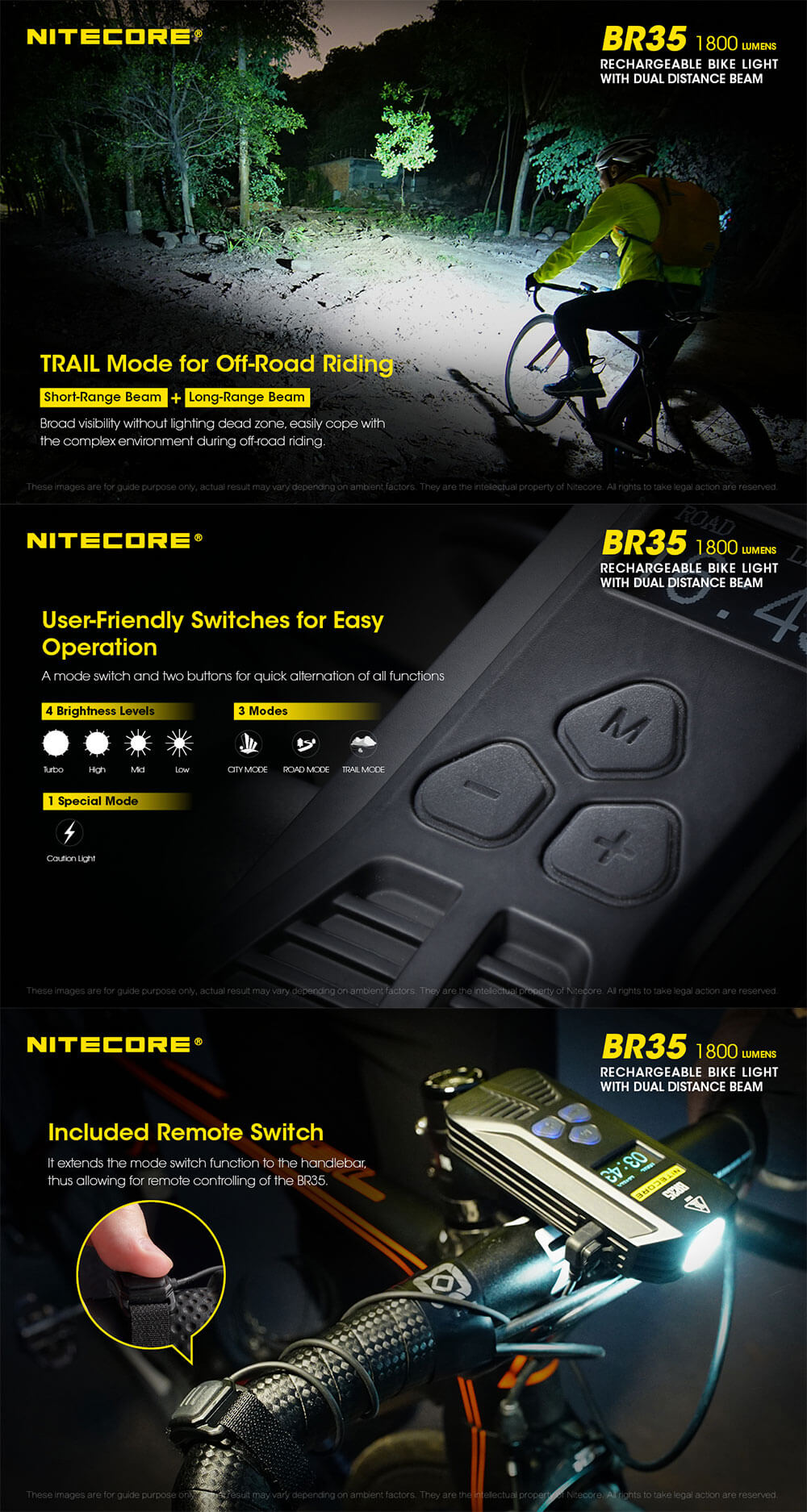 new nitecore bike light