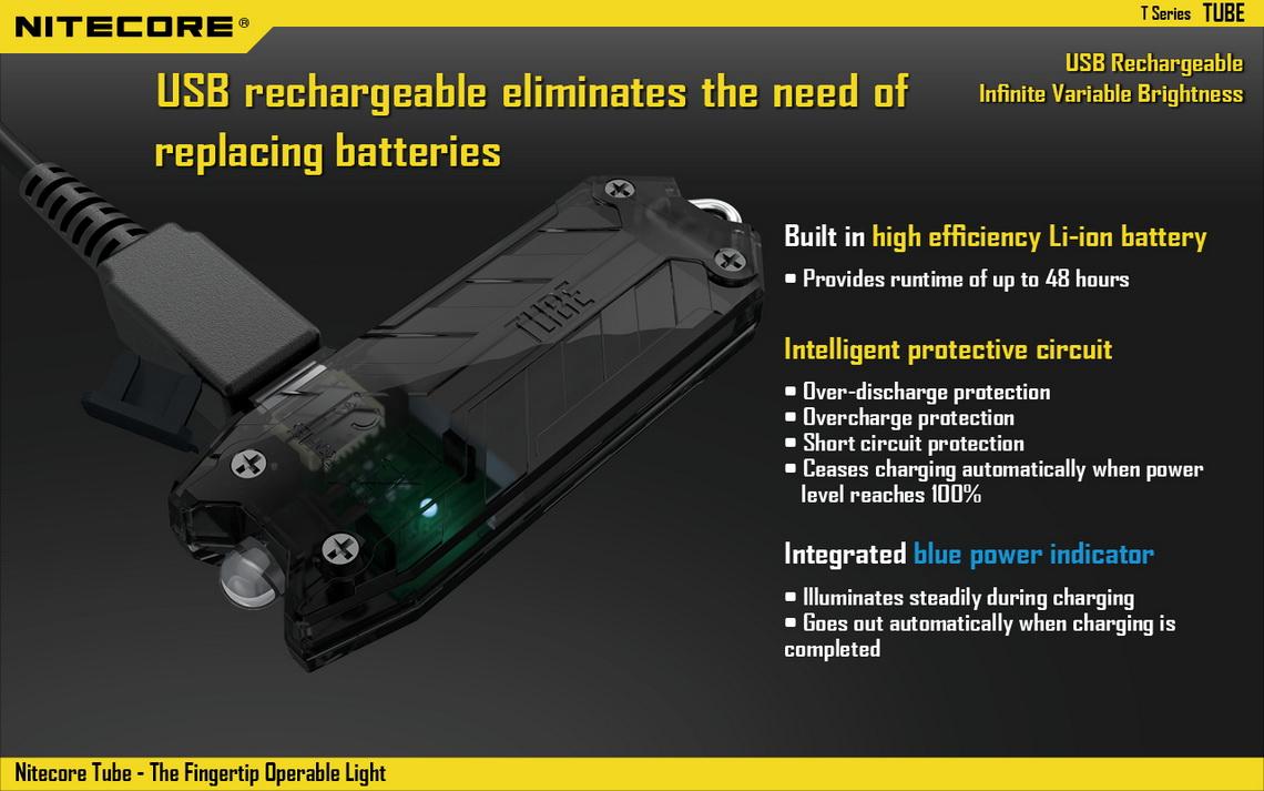 nitecore keychain light