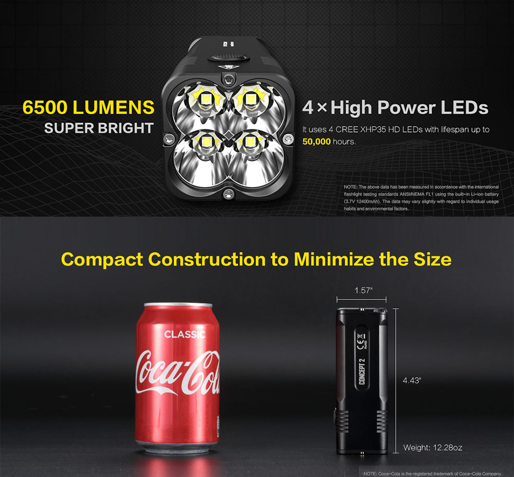 concept 2 flashlight