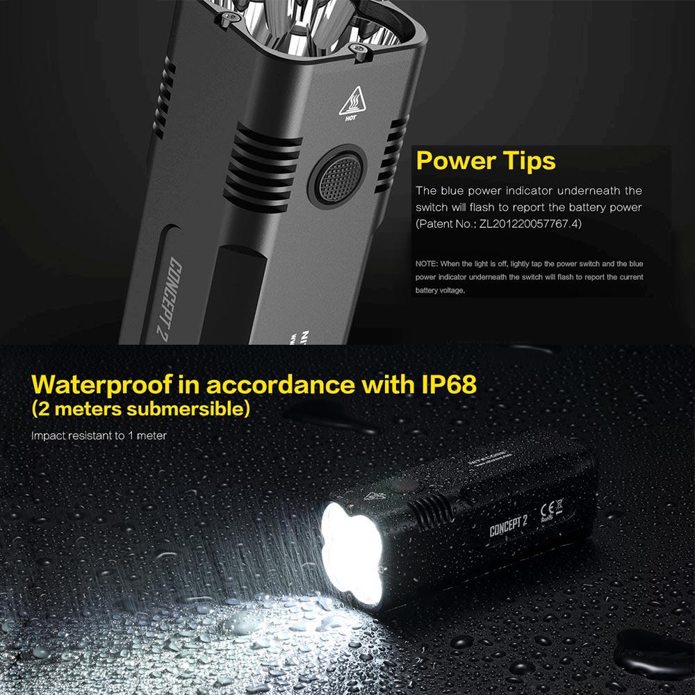 new concept flashlight