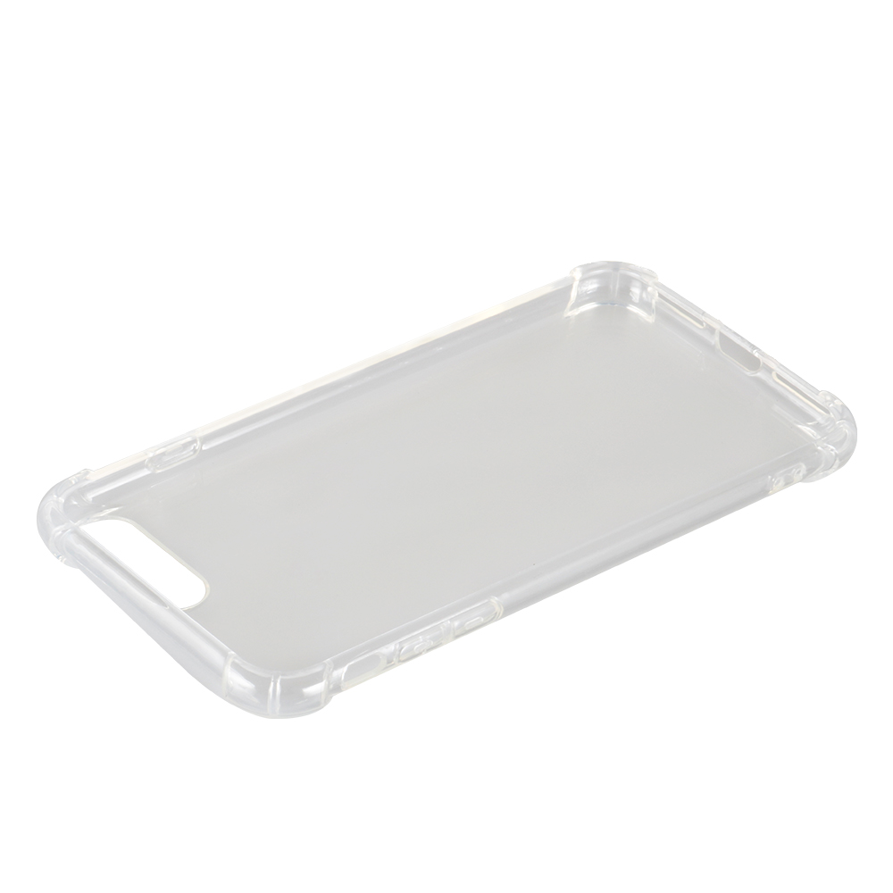 Clear Soft TPU Cover Case with Drop Protection Corners for iPhone 6/ 6s/ 6p/ 6s p/ 7/ 8/ 7p/ 8p