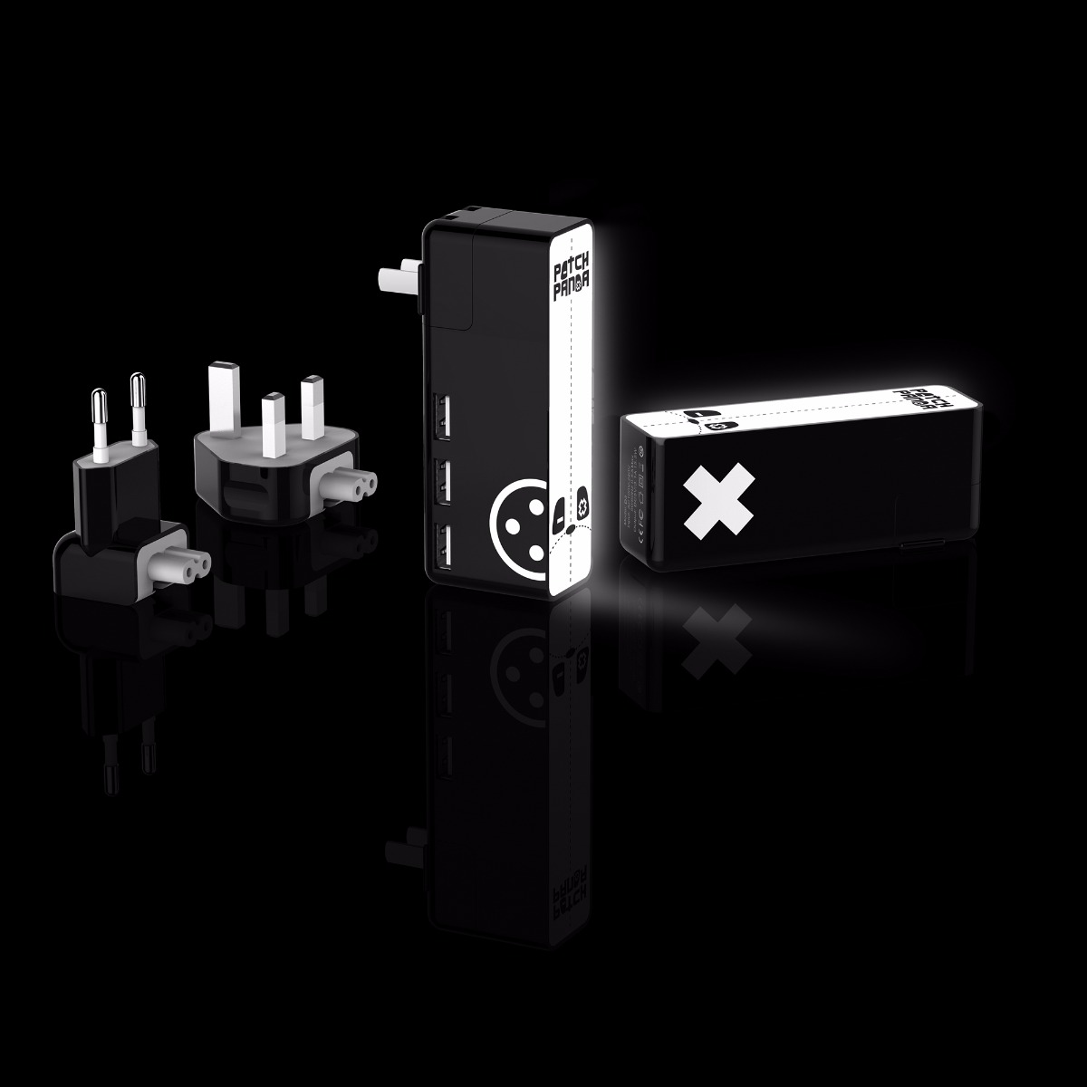 Patch Panda D3 USB Wall Adapter with Touch Night Light Function
