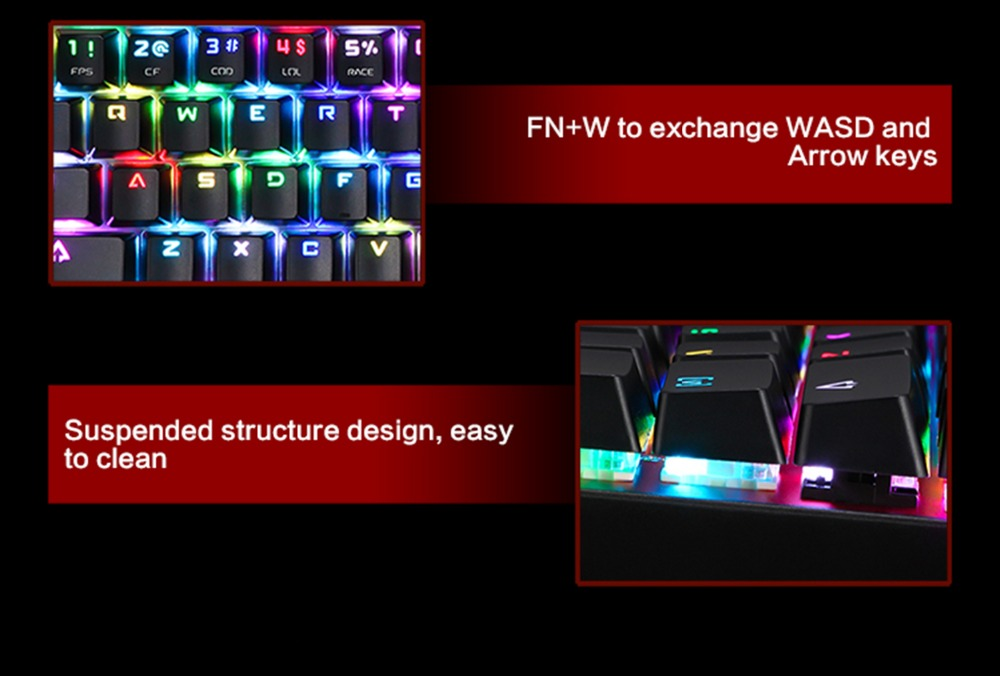 keyboards with backlight