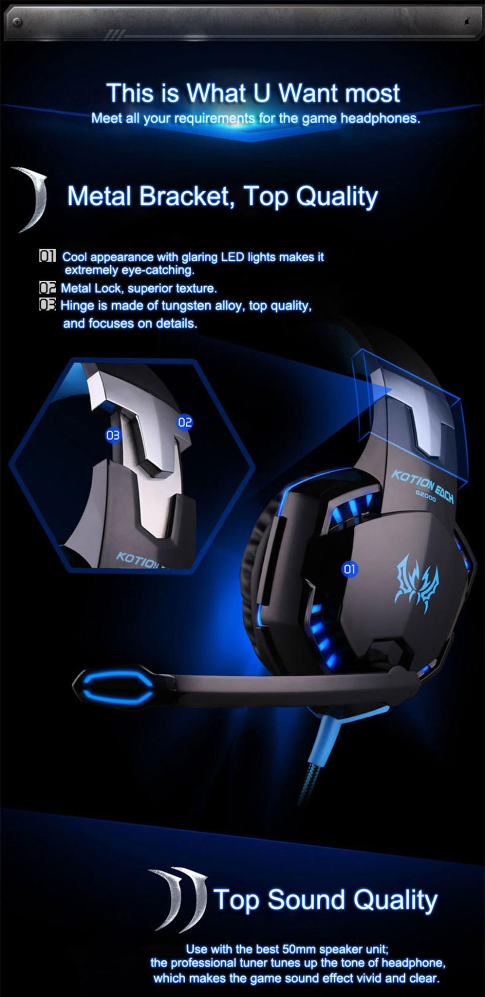 g2000 usb gaming headset