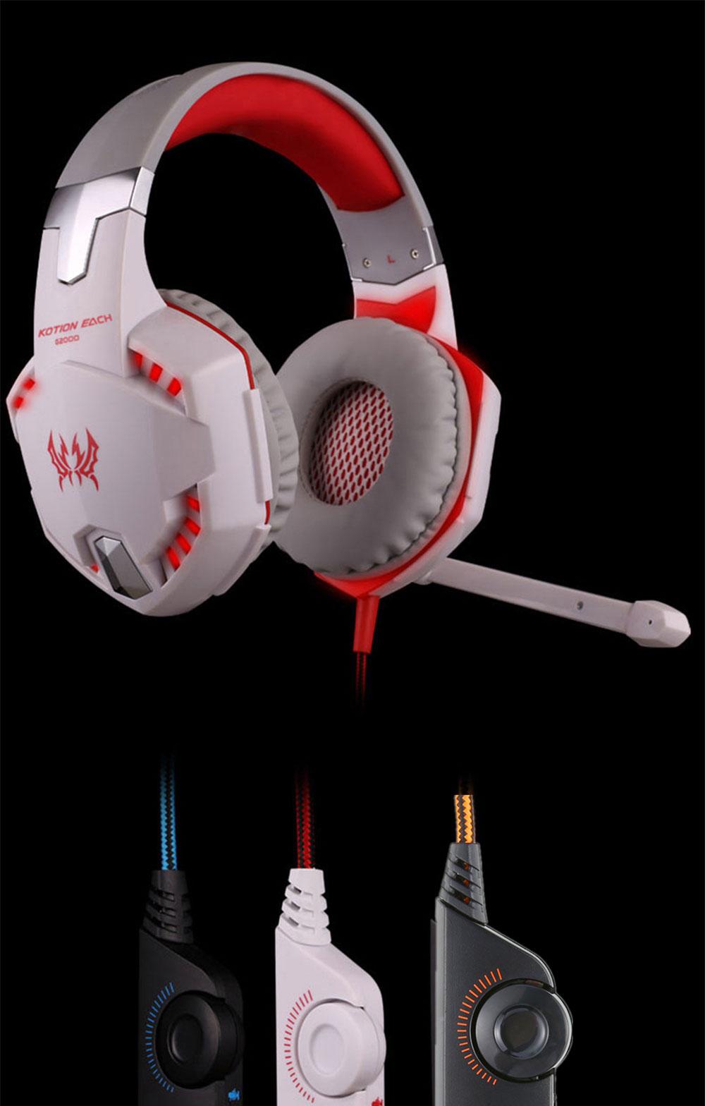 each g2000 gaming headphones