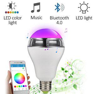 Smart Bluetooth Music Speaker LED Bulb
