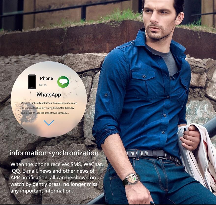 KW99 3G Wifi Smartwatch Phone