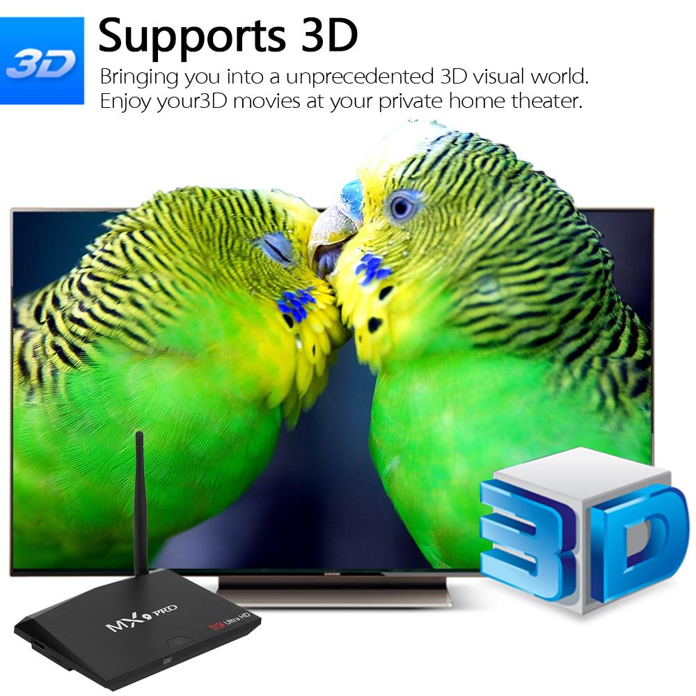 mx9 pro 4k android tv box