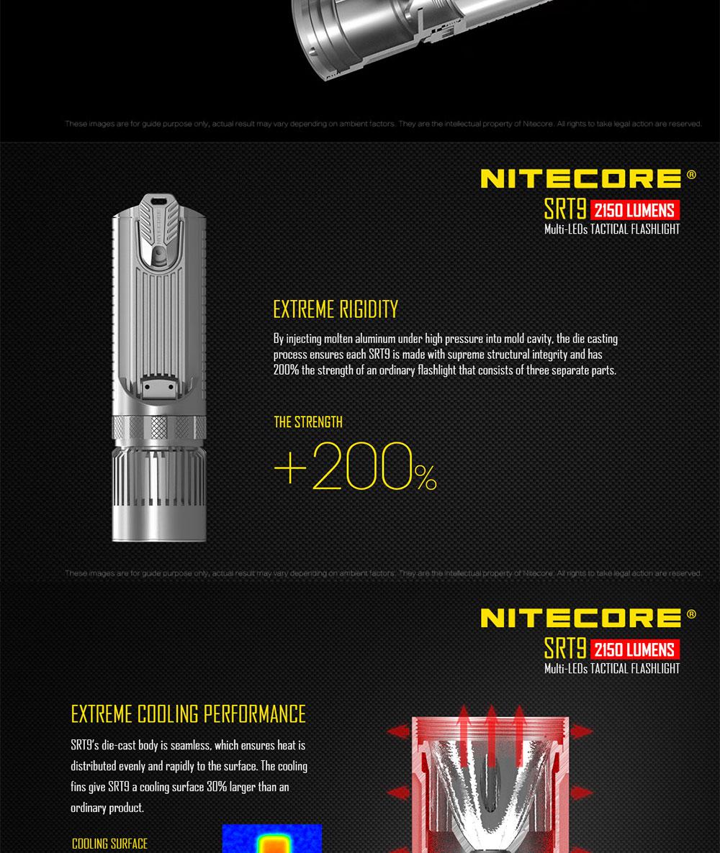 nitecore tactical flashlight