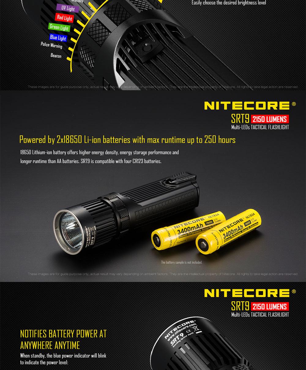 new nitecore flashlight