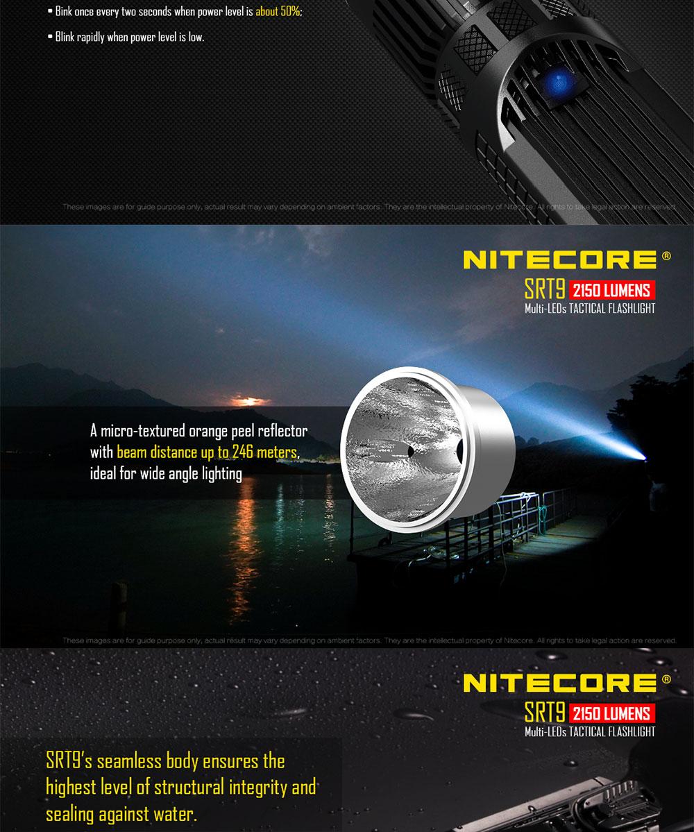 nitecore srt9 for sale