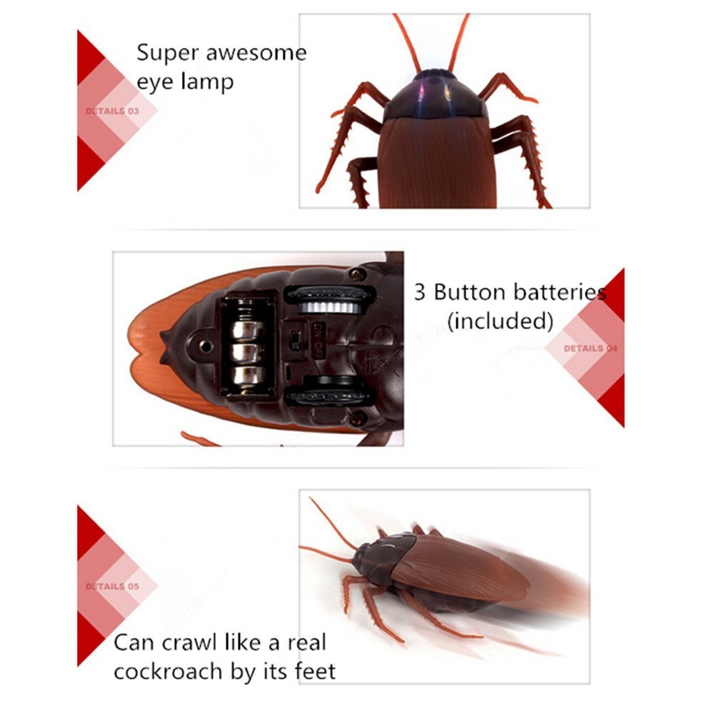 Infrared Remote Tricky Cockroach Toy