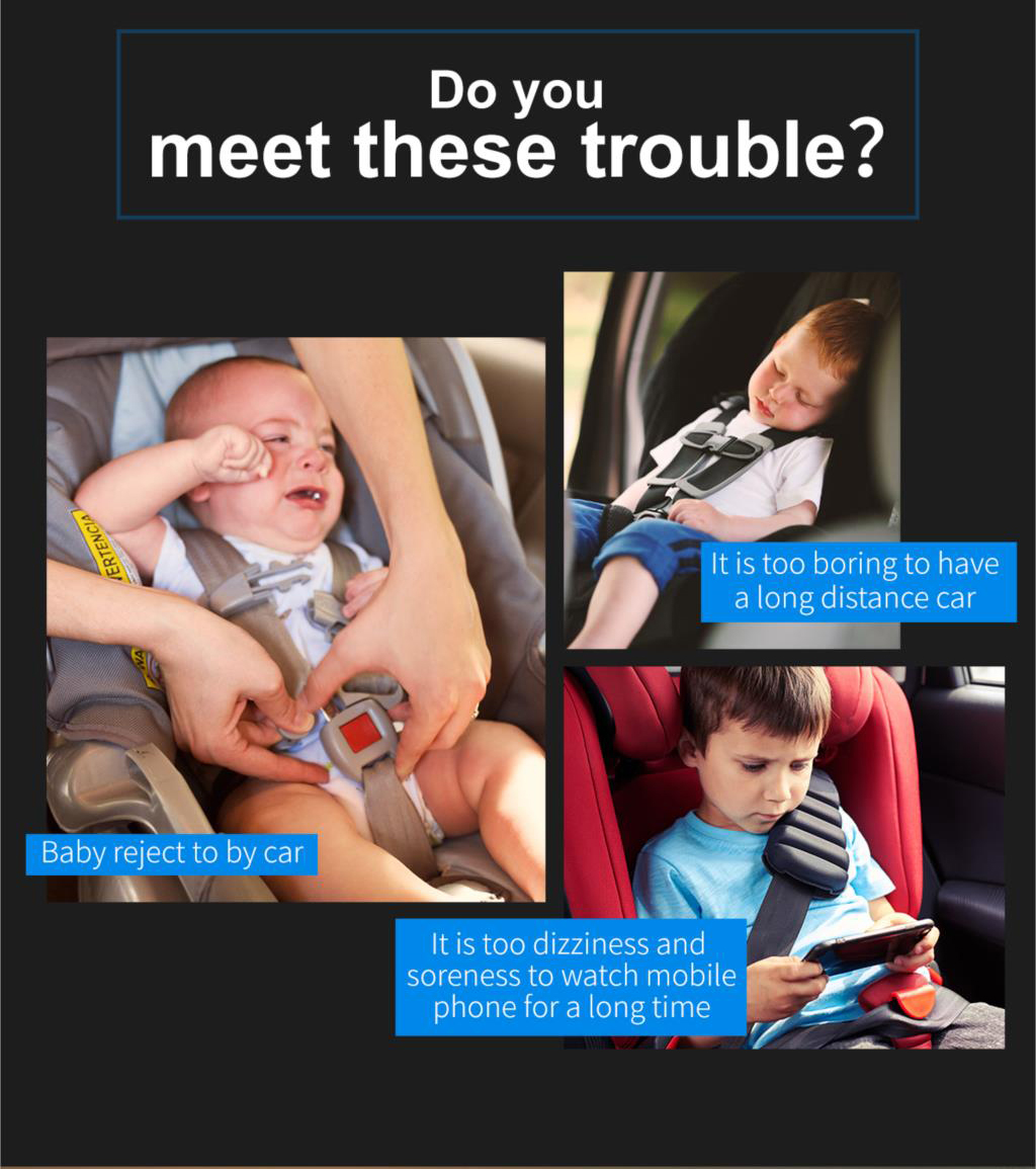 Baseus SUHZ Rear Seat Car Mount Holder