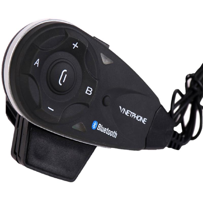 Vnetphone V5 Bluetooth Motorcycle Helmet  Intercom Headset