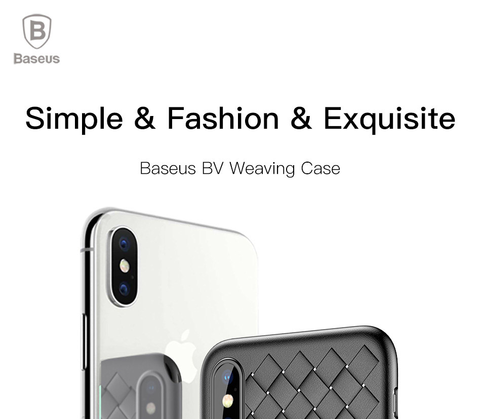 Baseus BV Weaving Case for iPhone X (WIAPIPHX-BV)