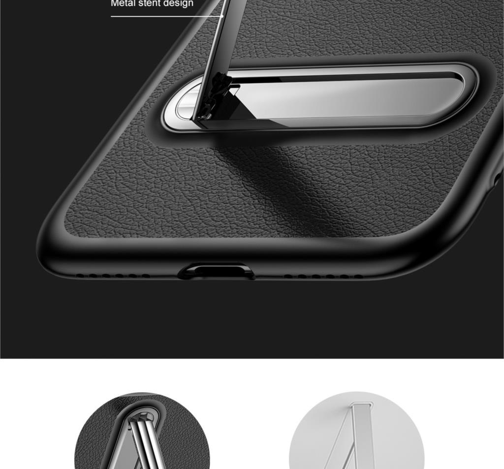 Baseus WIAPIPHX-LS Happy Watching Supporting Case for iPhone X