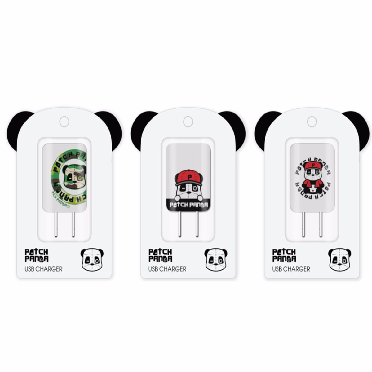 Patch Panda 1U USB Charger Adapter for Mobile Phone