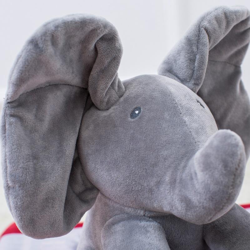 Electric Hide and Seek Cat Elephants