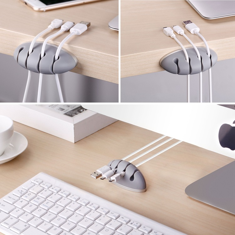 SeenDa Wire Cable Holder for MP4 Earphone Computer Cable